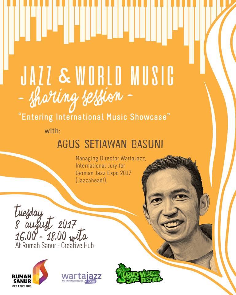 Wartajazz x Rumah Sanur x Ubud Village Jazz Festival
