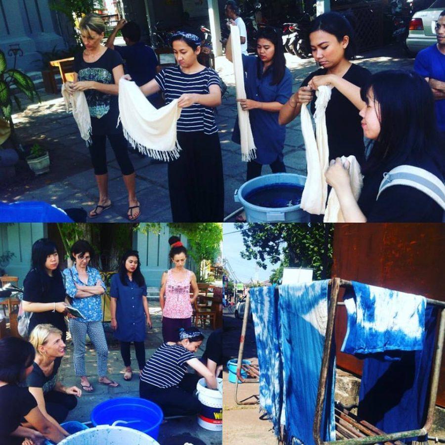 Creative WORKSHOP – Indigo Hand Dyeing with Manungs