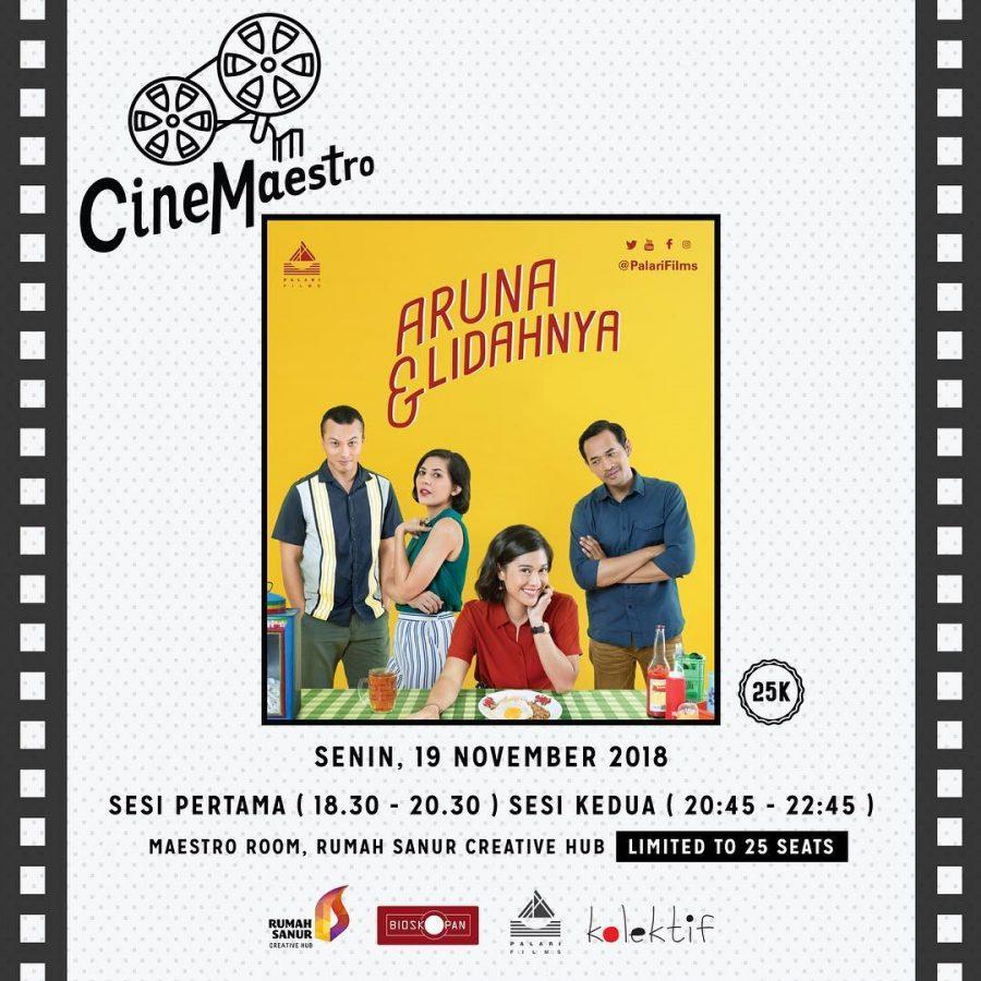 Cinemaestro: Aruna & Lidahnya