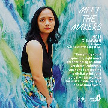 Neli Gunawan   Designer