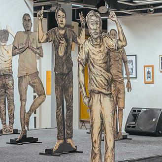 Pameran lukisan karya Seniman-seniman Komunitas Tepi Barat