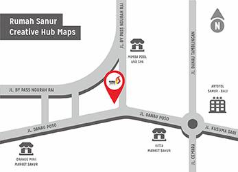 Map Rumah Sanur