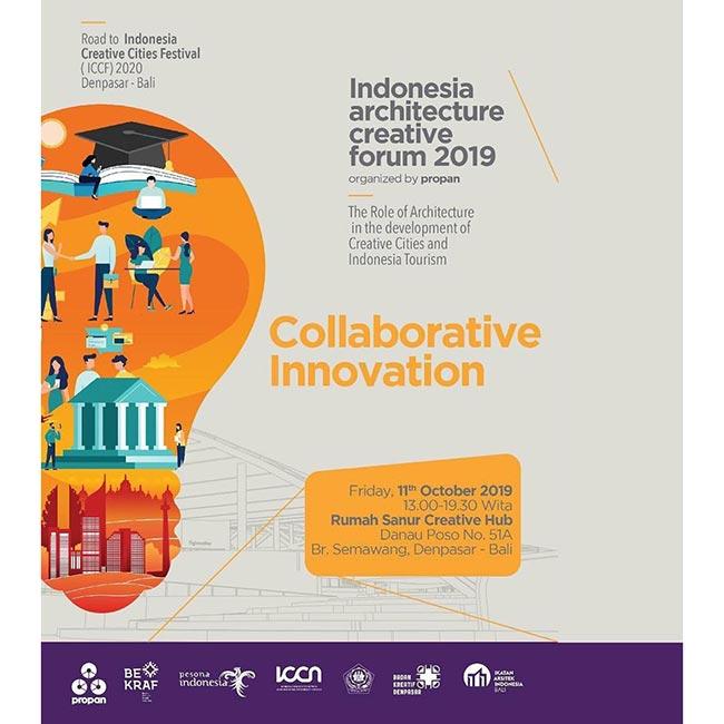 Indonesia Architecture Creative Forum 2019