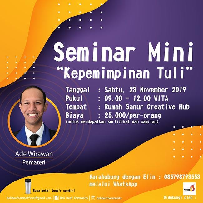 Seminar Mini
