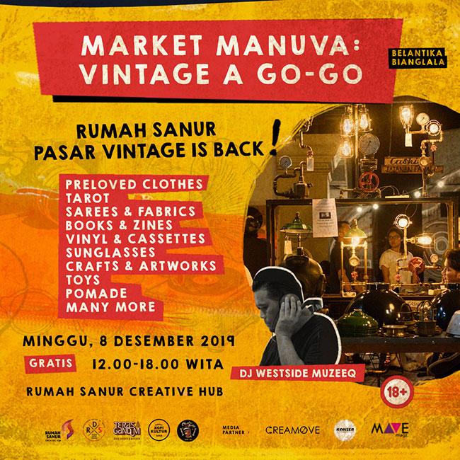 Market Manuva Vintage A Go-Go