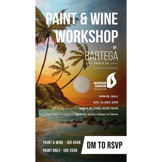 Bartega Paint & Wine