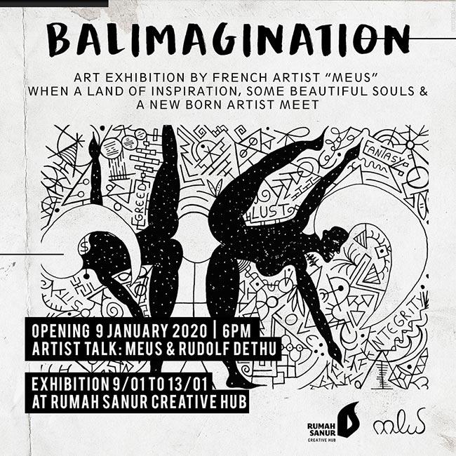 BALImagination Art Exhibition by Meus