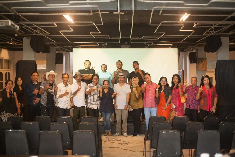 Diskusi & Pendaftaran Karya Musik Di Perpurnas (perpustakaan nasional)
