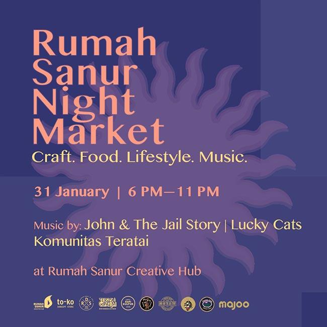 Rumah Sanur Night Market