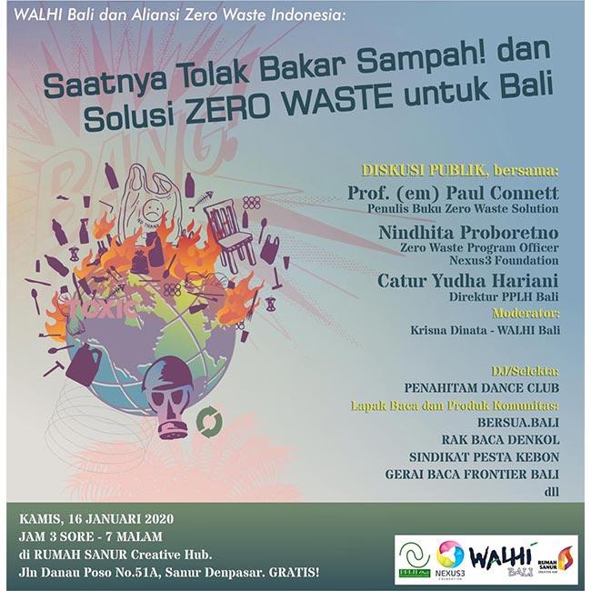 WALHI Bali dan Aliansi Zero Waste Indonesia