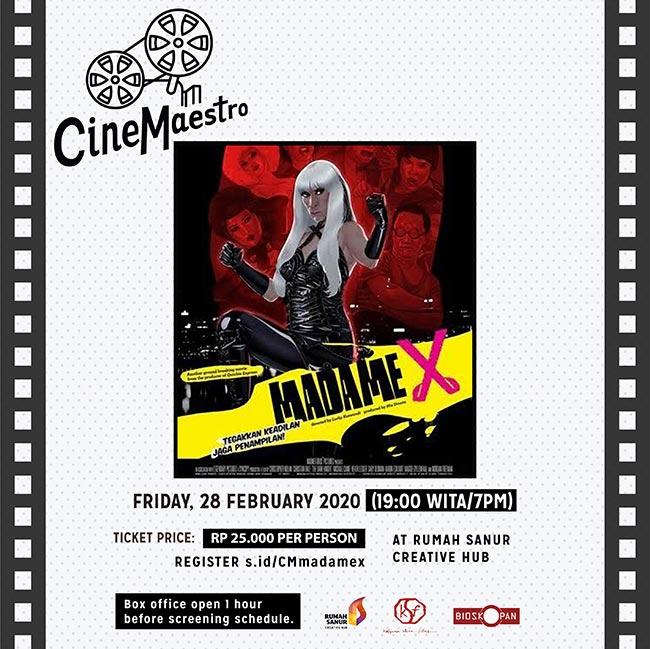 Cinemaestro X Bioskopan: MadameX