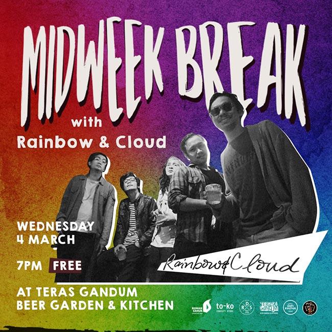 MIDWEEK BREAK - RAINBOW & CLOUD